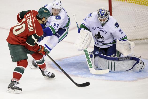 Parise Sticks in the Shiv as Vancouver Slides to 7th in Conference