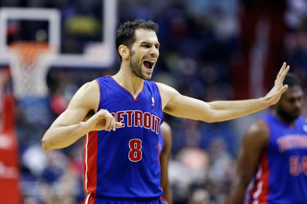 Detroit Pistons Must Retain Jose Calderon at All Costs