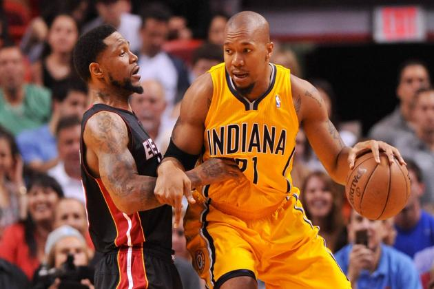 Pacers Can't Stop Miami's Winning Streak, Lose 105-91