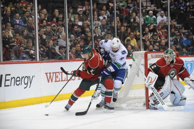 Canucks Tamed 4-2 by Wild and Lose Grip on Division Lead