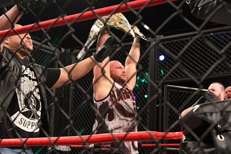 TNA Lockdown 2013: Aces & Eights President Bully Ray Wins the World Title