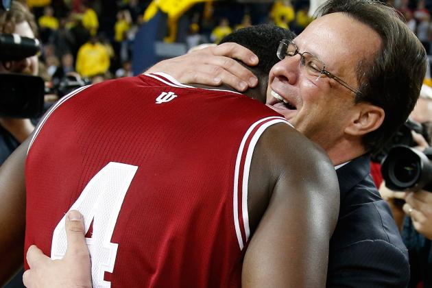 Under Tom Crean's Frenetic Guidance, Hoosiers Keep Cool Heads to Win