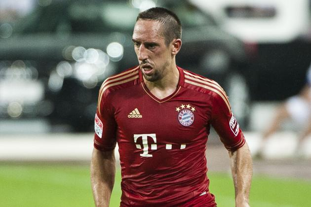 Franck Ribery to Miss Champions League Tie Against Arsenal