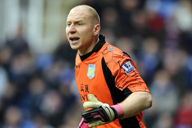 Aston Villa Goalkeeper Brad Guzan Rejects Excuses of Inexperience in the Ranks