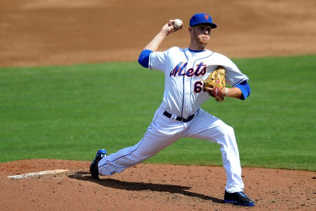 Mets Send Prospect Zack Wheeler to Minor League Camp