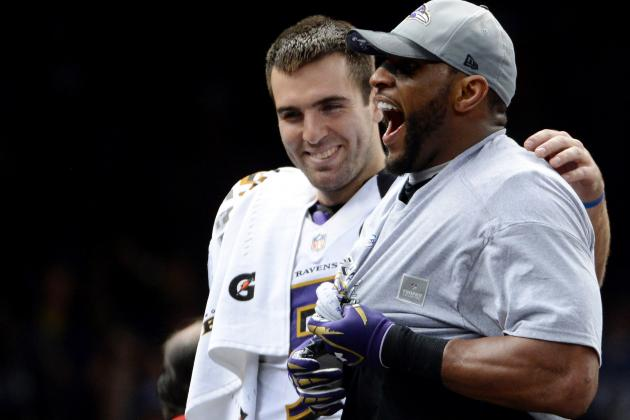 Joe Flacco Admits Ray Lewis Lost Him Sometimes