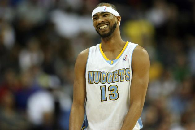 NBA Warns Nuggets' Corey Brewer for Flopping