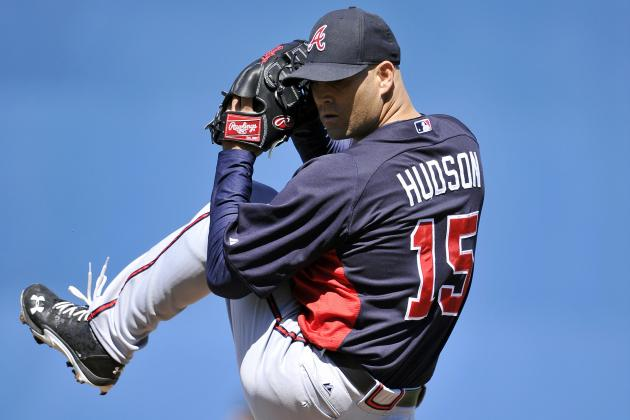 Braves' Hudson Felt Good Despite 'Train Wreck' Outing