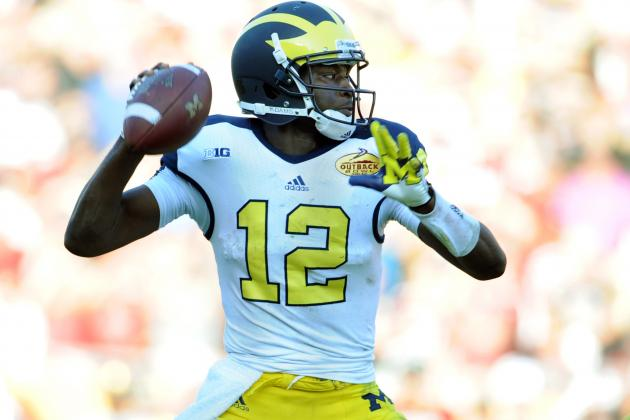 Devin Gardner Moves Michigan into Post-Denard Robinson Era