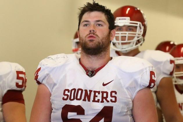 Report: Oklahoma C Gabe Ikard (hand) to Miss Practice