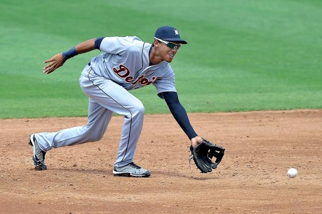 Catcher Cabrera, SS Machado Among Five in Latest Round of Tigers Cuts