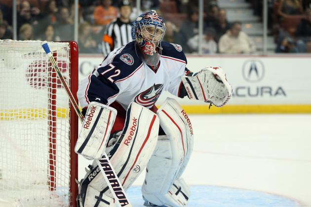 Sergei Bobrovsky Named NHL's First Star of the Week of Mar. 4-10