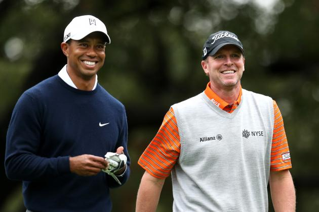Steve Stricker Helps Tiger Woods' Putting Stroke Finishes Runner-Up