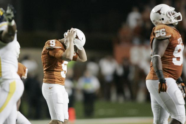 Mack Brown on Anthony Fera: We Aren't Giving Up on Him