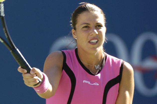 Tennis Ace Accused of Battering Her Ex