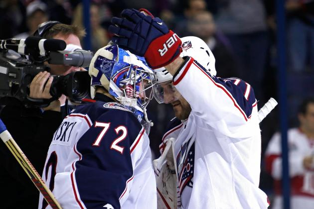 Sergei Bobrovsky, Sidney Crosby and Jeff Carter Named 'Three Stars' of the Week