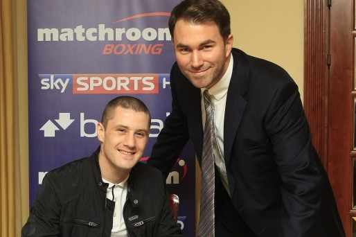 Ricky Burns Inks with Matchroom