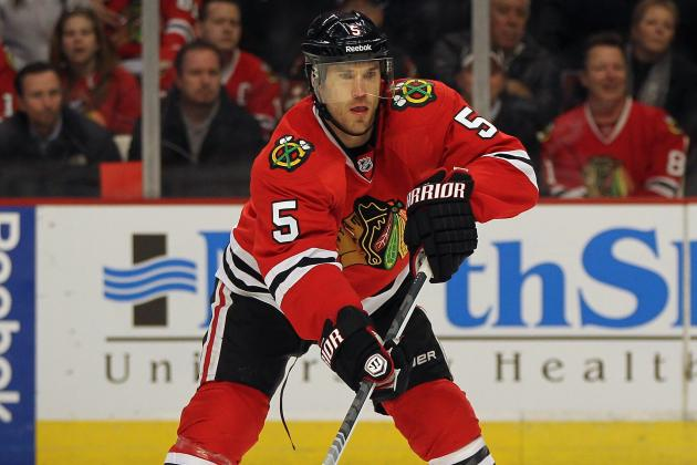 Report: Chicago Puts Montador on Waivers