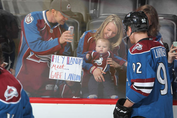 Photo: They're Already Naming Babies After Landeskog