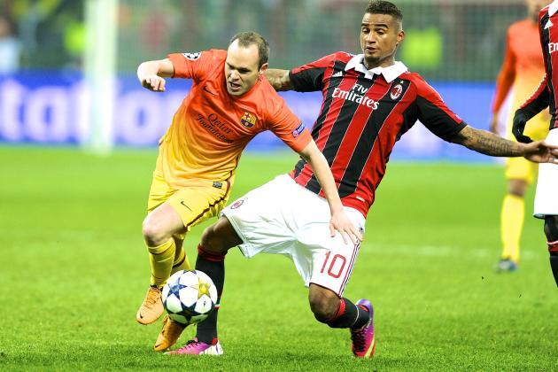 Champions League: Barcelona Aim for Comeback as AC Milan Seek European Statement