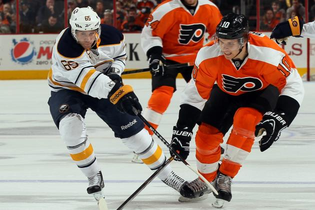 Flyers Edge Sabres to End Slump