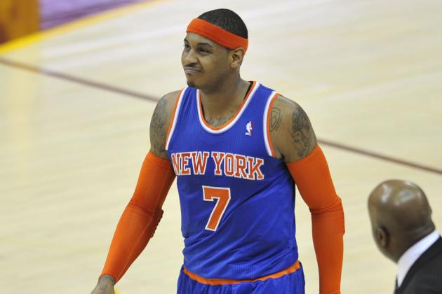Carmelo Anthony Probable to Return Tonight After 3-Game Absence