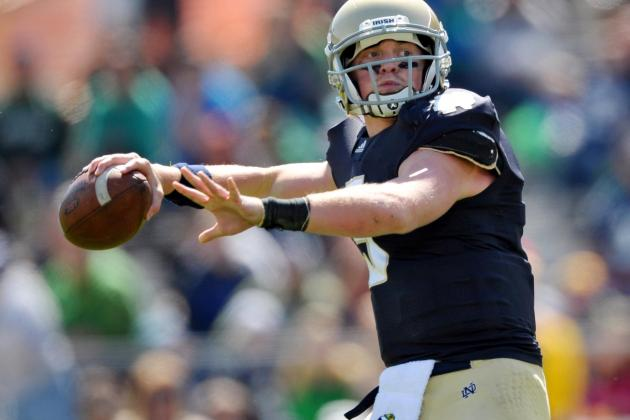 Is Arkansas Pursuing Former Notre Dame Quarterback Gunner Kiel?