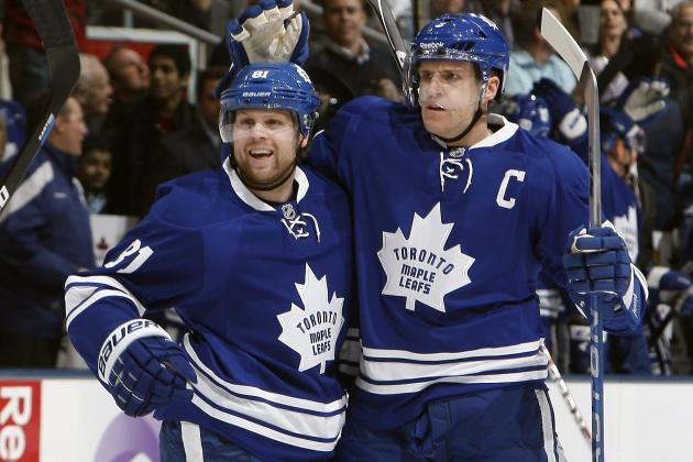 Spotlight Fixed Firmly on Leafs' Phaneuf and Kessel