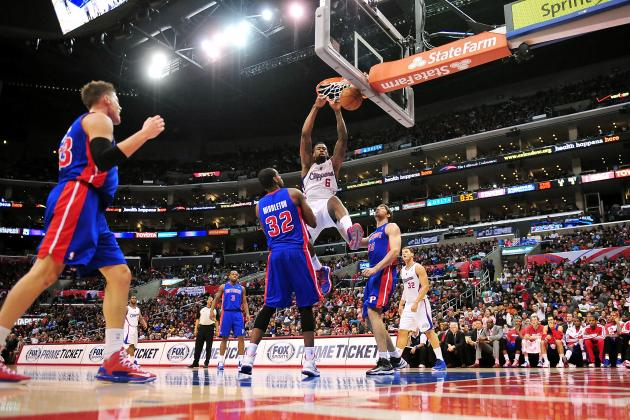 Players React to DeAndre Jordan's Dunk over Brandon Knight