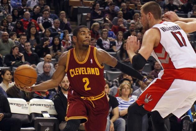 Cleveland Cavaliers Kyrie Irving out 3-4 Weeks with Sprained Left Shoulder