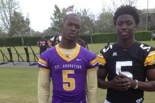 Dylan Moses' Picture Shows 8th Grade Recruit Already Has SEC Size