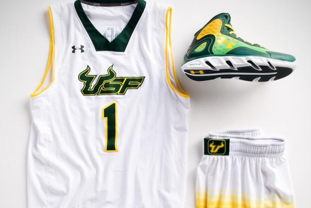 USF Bulls Get Crazy Shorts for Big East Tournament