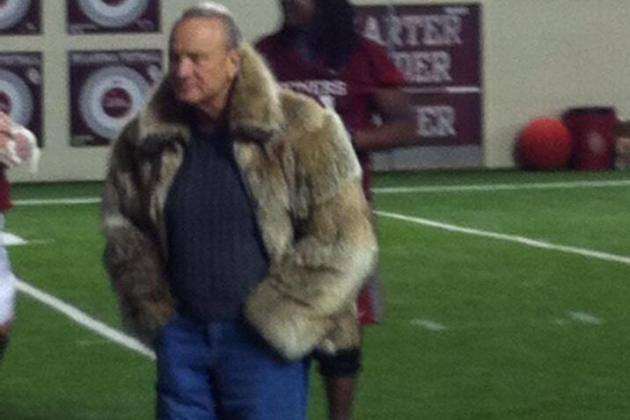 Barry Switzer's Jacket That Made Some Buzz
