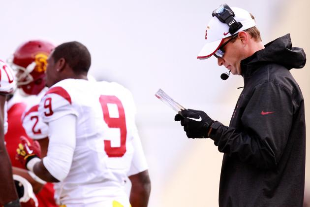 The Key Moments from 2012 That Prove Lane Kiffin Shouldn't Call Plays