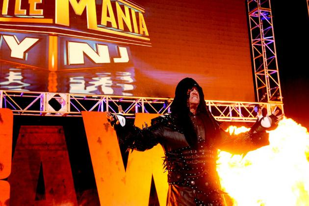 Undertaker vs. CM Punk at WrestleMania Will Steal the Show