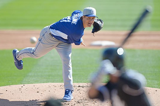 Greinke, Dodgers Can Breathe Easier After MRI