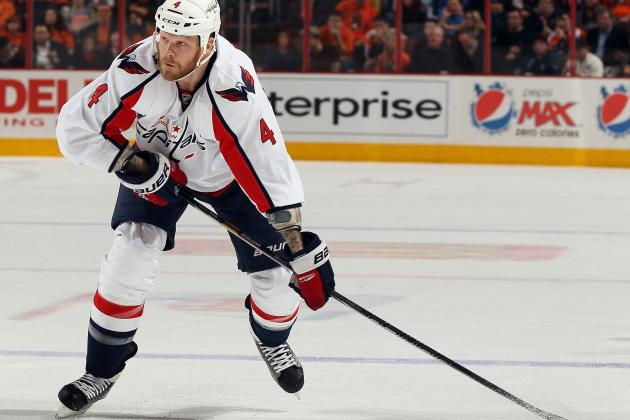 What John Erskine's Absence Means for the Capitals