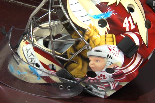 Video: Smith and LaBarbera Unveil New Masks
