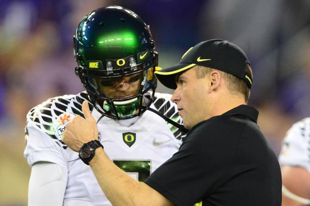 Oregon, USC, UCLA Top 2013 Pac-12 Spring Football Storylines