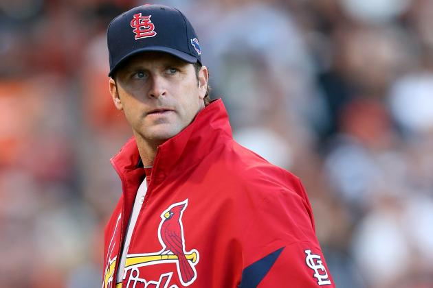 Cards Say Matheny 'Feeling Good' After Surgery