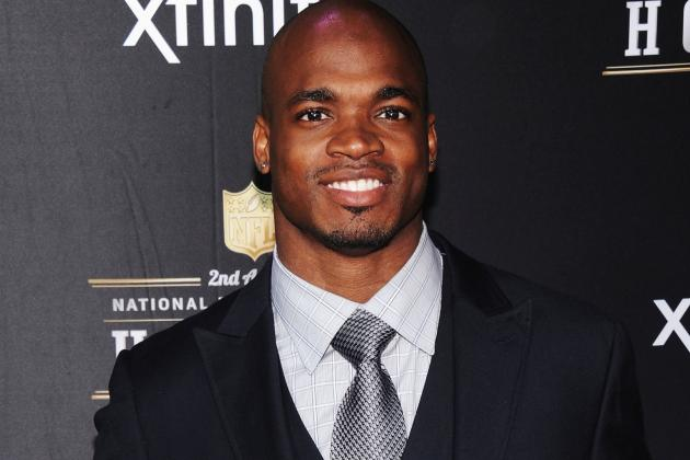 Adrian Peterson: 'Kicked in the Stomach'