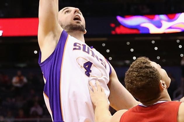 Suns One On One: Gortat on His Foot Injury