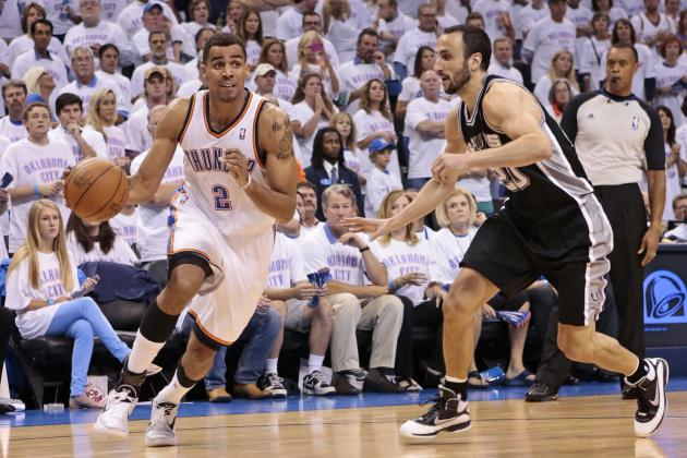 OKC Thunder vs. San Antonio Spurs: Live Score, Results and Game Highlights