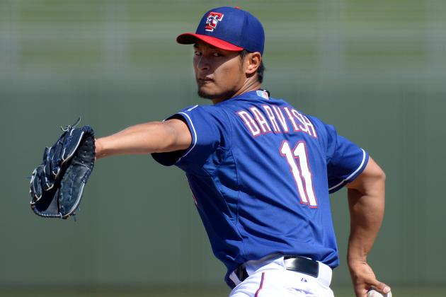 Yu Darvish Looks to Be in Complete Control
