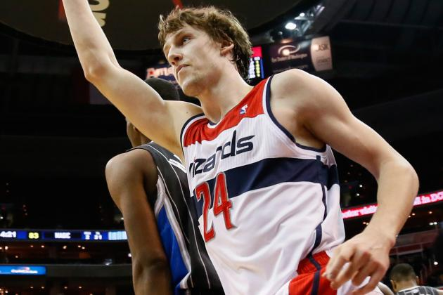 Wizards' Jan Vesely Searching for Answers During Lost Season