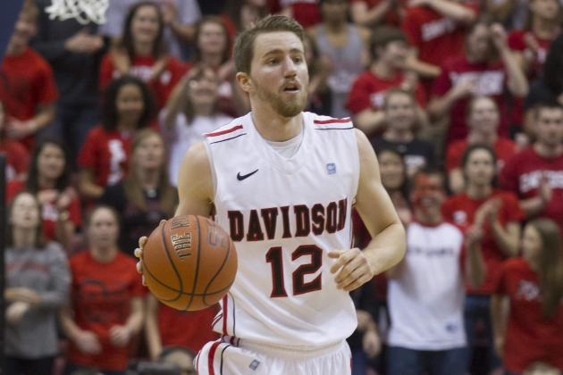 Davidson Beats Charleston 74-55 to Clinch Tourney Berth
