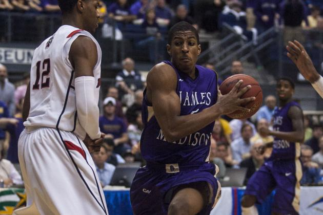 James Madison Beats Northeastern 70-57