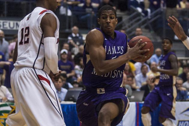 James Madison 70, Northeastern 57