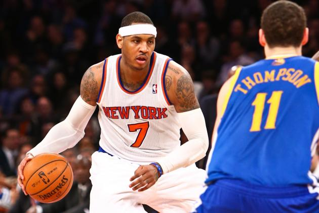 NBA Gamecast: Knicks vs. Warriors