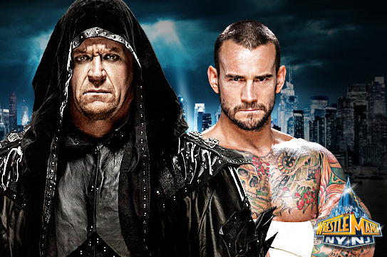 WrestleMania 29: Undertaker and CM Punk Is a Mistake
